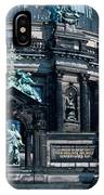 Low Angle View Of A Church, Berliner IPhone Case