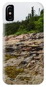 Low Tide - Walking On The Bottom Of Saint Lawrence River IPhone Case