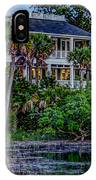 Lowcountry Home On The Wando River IPhone Case