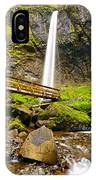 Lower Angle Of Elowah Falls In The Columbia River Gorge Of Oregon IPhone Case