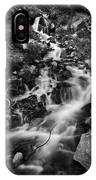 Lower Bridal Veil Falls 2 Bw IPhone X Case