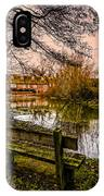 Lower Denford Hungerford IPhone Case