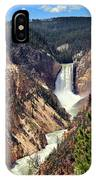 Lower Falls Of Yellowstone IPhone Case
