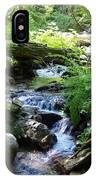 Lower Granite Falls 2 IPhone Case