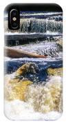 Lower Tequamenon Falls IPhone Case