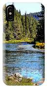 Lower Truckee River IPhone Case