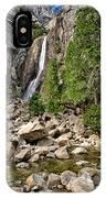 Lower Yosemite Falls IPhone Case