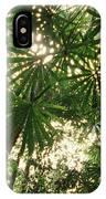 Lowland Tropical Rainforest Fan Palms IPhone Case