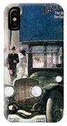 Lozier Cars - Vintage Advertisement IPhone Case