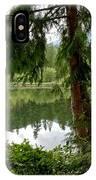 Lush Green At Starvation Lake IPhone Case