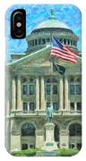 Lucas County Court House IPhone Case