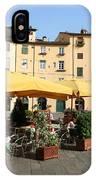 Lucca Piazza Del Mercato  IPhone Case