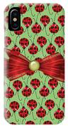 Lucky Ladybugs IPhone Case