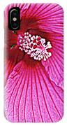 Luminescent In Pink IPhone Case