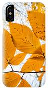 Luminescent Leaves IPhone Case