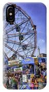 Luna Park 2013 - Coney Island - Brooklyn - New York IPhone Case