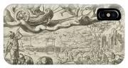 Luna, The Moon, And Her Children, Harmen Jansz Muller IPhone X Case