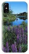 Lupin And Lake IPhone Case