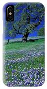 Lupine And The Leaning Tree IPhone Case
