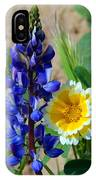 Lupine And Tidy Tip IPhone Case