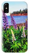 Lupine Bay Fortune IPhone Case