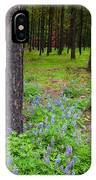 Lupine Forest IPhone Case