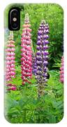 Lupines 5976 IPhone Case