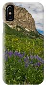 Lupines On The Hillside IPhone Case