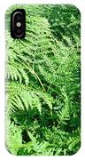 Lush Green Fern IPhone Case