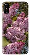 Lush Lilacs IPhone Case