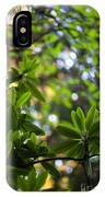 Lush Rhododendron Forest IPhone Case