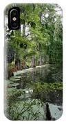 Lush Swamp Vegetation IPhone Case
