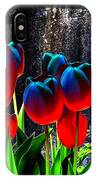 Lustrous Tulips IPhone Case