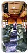 Luxury Lounge Car Of Early Railroading IPhone Case