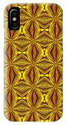 Luxury Red And Gold Christmas Kaleidoscope IPhone Case