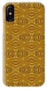 Luxury Red And Gold Foil Christmas Pattern IPhone Case