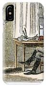 Lydia Darrah, 1777 IPhone Case