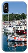 Lyme Regis Harbour On A July Morning IPhone Case