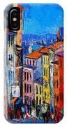 Lyon Colorful Cityscape IPhone Case