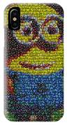 M And M Minion   IPhone Case