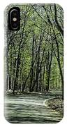 M119 Tunnel Of Trees Michigan IPhone Case