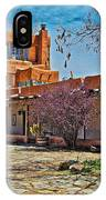 Mabel Dodge Luhan's Courtyard IPhone Case