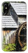 Mabry Mill Close Up IPhone Case
