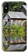 Mabry Mill In Virginia IPhone Case