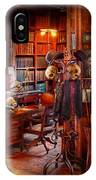 Macabre - In The Headhunters Study IPhone X Case