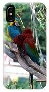 Macaws Of Color24 IPhone Case