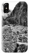 Macchu Picchu IPhone Case
