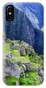 Macchu Picchu Peru - Ruins IPhone Case