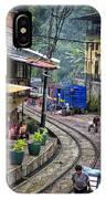 Macchu Picchu Town - Peru IPhone Case
