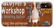 Macgyvers Workshop IPhone Case